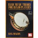 Basic Music Theory for Banjo Players - Book/Audio/Video