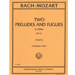 2 Preludes and Fugues, K 404a, Set 2 - String Trio