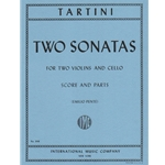 2 Sonatas - Two Violins and Cello