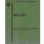 6 Country Dances, K. 606 - Two Violins and Bass