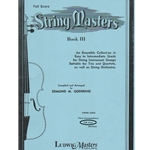 String Masters, Book 3 - Score