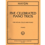5 Celebrated Piano Trios - Violin, Cello and Piano