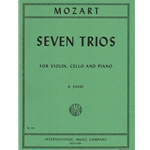 7 Trios - Violin, Cello and Piano