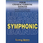 4 Characteristic Dances from Swan Lake - Concert Band