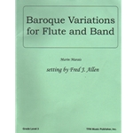 Baroque Variations for Flute and Band - Concert Band