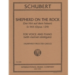Shepherd on the Rock, Op. 129 - Soprano Voice, Clarinet, and Piano
