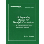 10 Beginning Studies for Multiple Percussion