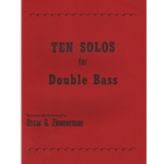 10 Solos for Double Bass - String Bass and Piano