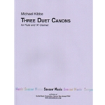 3 Duet Canons - Flute and Clarinet in A