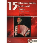 15 Klezmer Solos, Duos, and Trios (Bk/CD) - Clarinets or Other Instruments