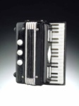 Accordion Magnet - Black
