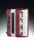 Accordion Magnet - Brown