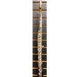 Yamaha YFL-577HCT/LPGP Flute, Solid Silver Headjoint, with SplitE, B Foot, C# Trill, Gold Lip Plate