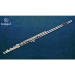 Tomasi Flute, Series 10S, Silver Headjoint/Body, Grenadilla wood lip plate, open holes, B foot