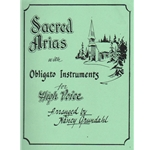 Sacred Arias with Obligato Instruments - High Voice, Instrument, and Piano