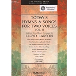 Today's Hymns and Songs for Two Voices, Volume 2 (Bk/CD) - Vocal Duet