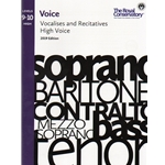 Royal Conservatory Vocalises and Recitatives (2019 Edition) - Levels 9-10 High Voice