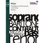 Royal Conservatory Vocalises and Recitatives (2019 Edition) - Levels 9-10: Low Voice