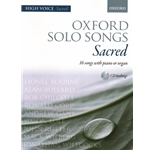 Oxford Solo Songs: Sacred - High Voice and Keyboard