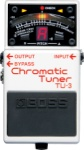 BOSS TU-3 Chromatic Guitar & Bass Tuner