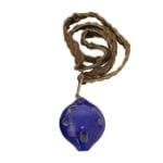 DOBANI Soprano Ocarina w/ Braided Necklace D5 - Blue