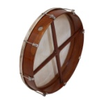"Roosebeck Outside Tunable Sheesham Bodhran Cross-Bar 18"" x 3.5"""