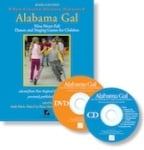 Alabama Gal (Book with CD and DVD)