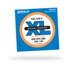 D'Addario EXL160-5 Nickel Wound 5-String Long Scale Med Bass Strings
