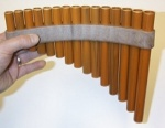 15 Note Synthetic Panpipe (Pan Flute)