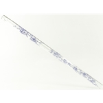 Crystal Flute in A, Blue Delft