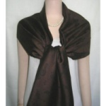 Brown and Black Pashmina Scarf