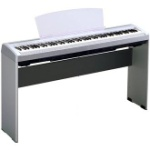 Yamaha L85S Stand For Yamaha P95 Digital Piano (Silver)