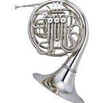 Yamaha YHR-668NDII Professional Double French Horn, detachable bell, nickel