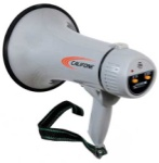 Califone PA-5 15-Watt Megaphone with Siren