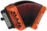 Hohner COGO Compadre GCF Orange Accordion