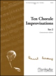 10 Chorale Improvisations Set 2 - Organ