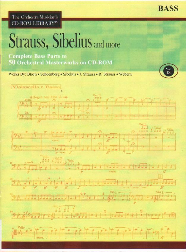 Violin Debussy Mahler and More Volume 2: The Orchestra Musicians CD-ROM Library