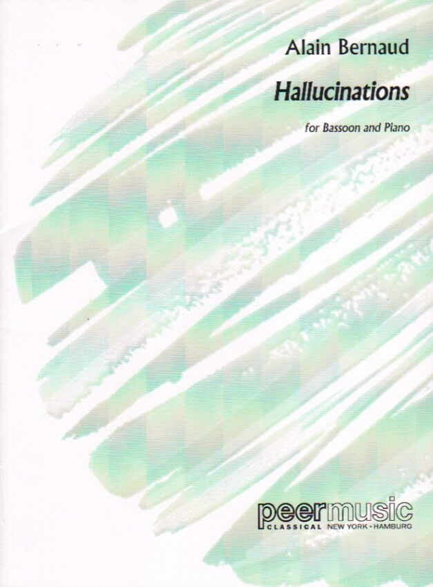 Hallucinations - Bassoon and Piano