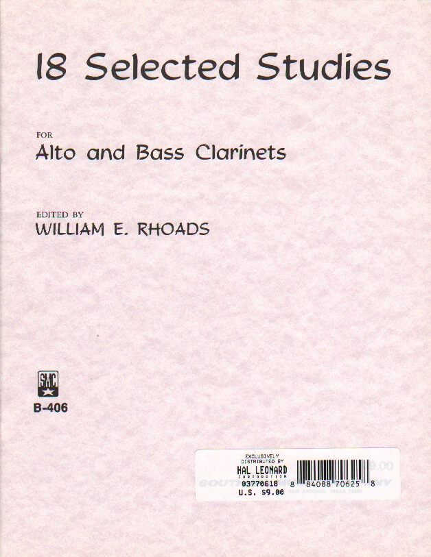 Clarinet Selected Studies