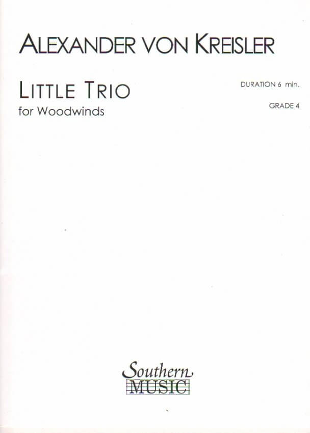 Little Trio - 2 Oboes and English Horn (or Flute, Oboe, and Clarinet)
