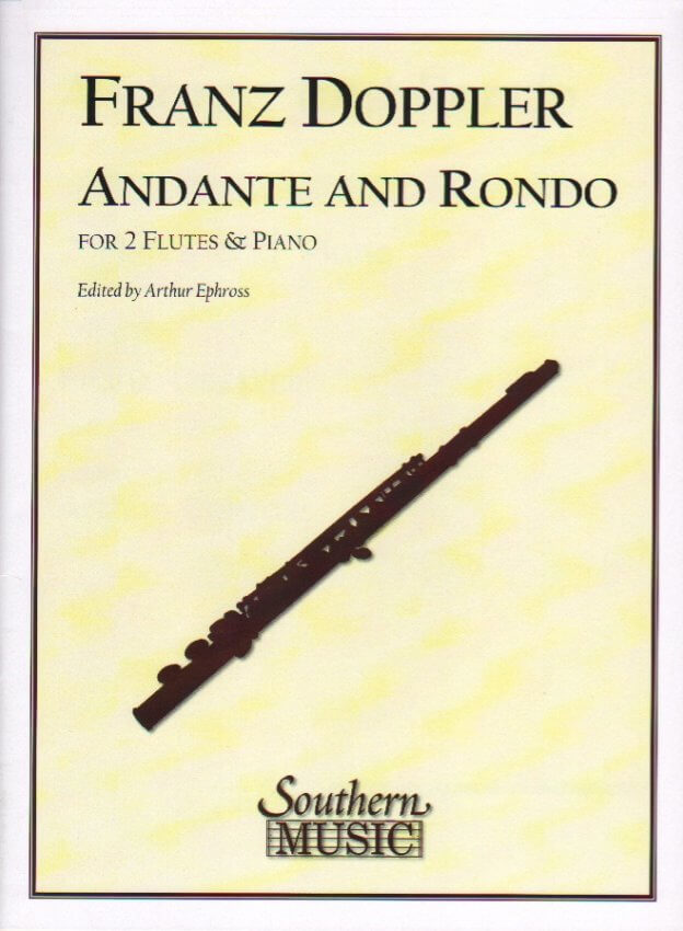 Andante and Rondo - Flute Duet and Piano