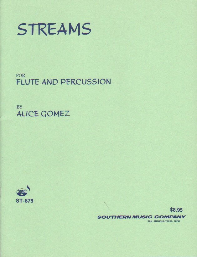 Streams - Flute and Percussion