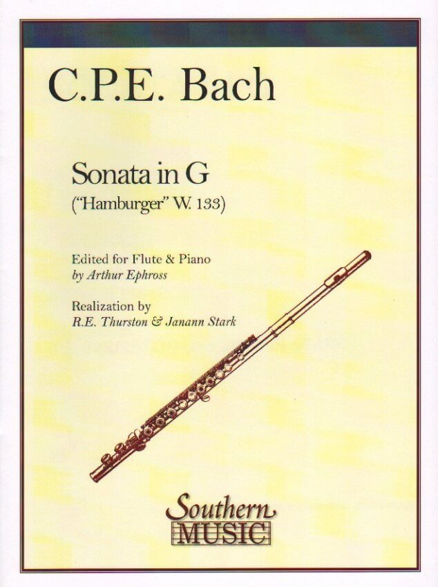 Hamburger Sonata in G Major, Wq. 133 - Flute and Piano