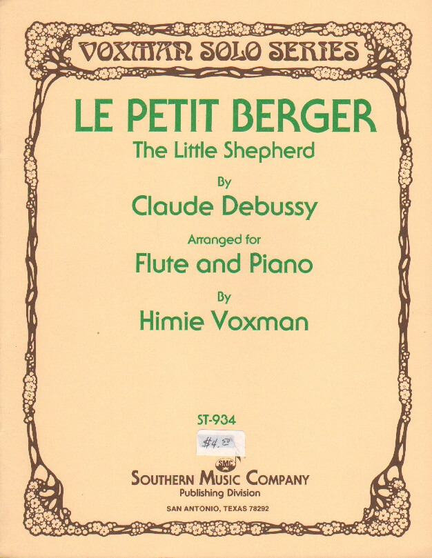 Little Shepherd, The - Flute and Piano
