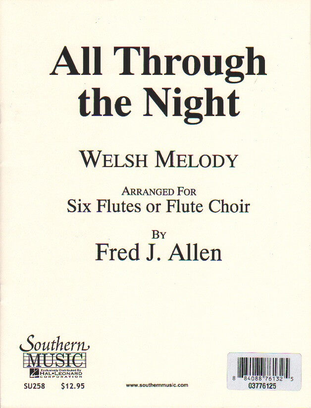 All Through The Night - Flute Choir