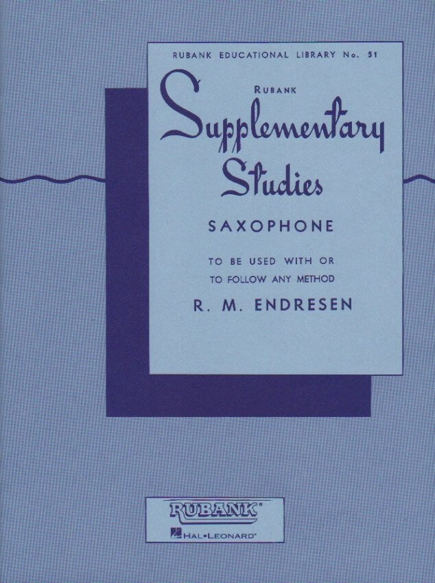 Supplementary Studies - Saxophone