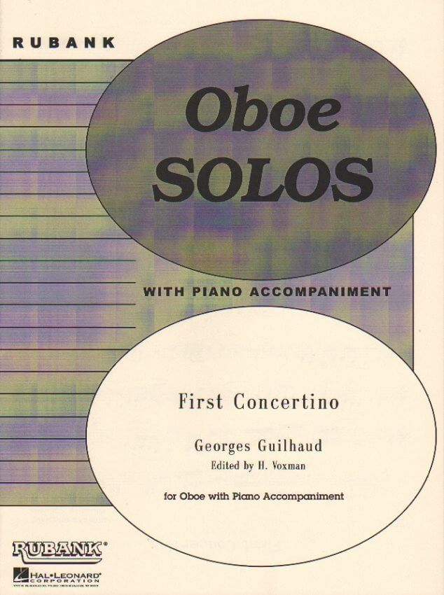 First Concertino - Oboe and Piano