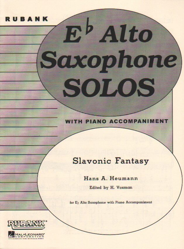 Slavonic Fantasy - Alto Sax and Piano