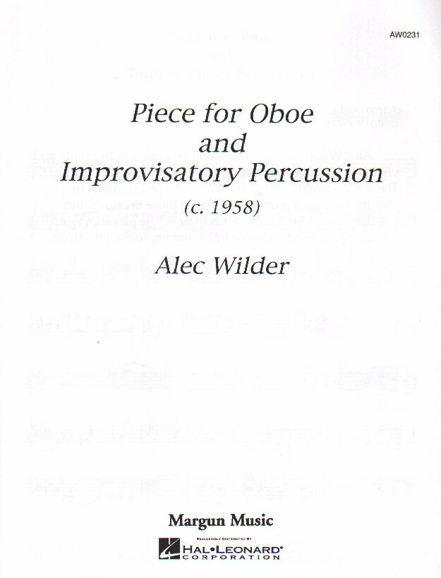 Piece - Oboe and Improvisatory Percussion