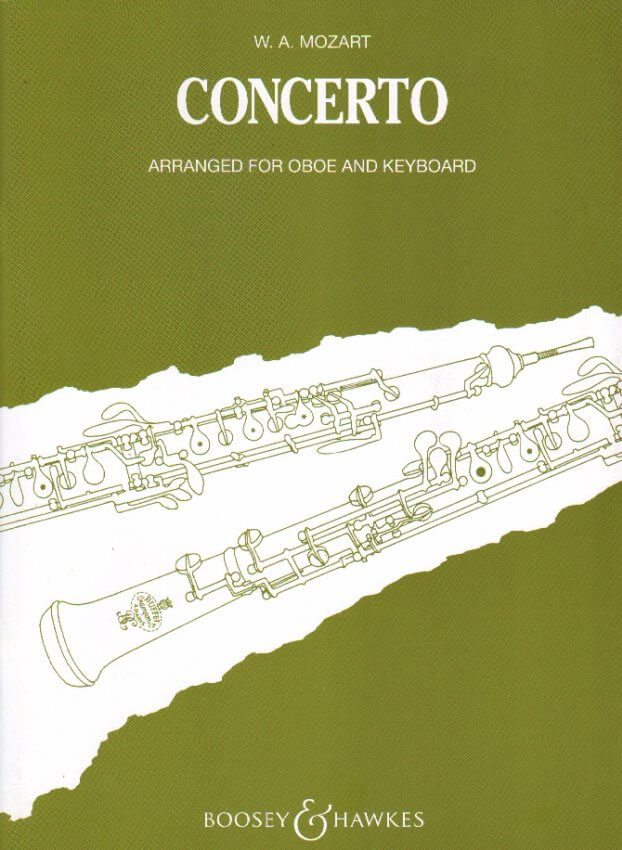 Concerto in C Major, K. 314 - Oboe and Piano